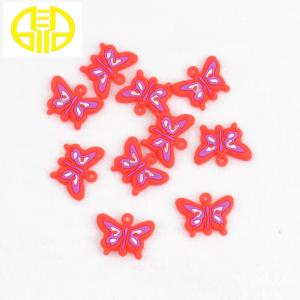 China Soft Colorful Loom Band Charms For Rainbow Loom , DIY Charming Pendents on sale