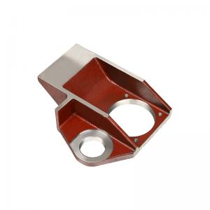 China Carbon Steel Precision Investment Casting Lost Wax Bracket Cover 5KG - 180KG on sale