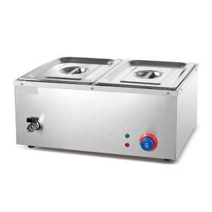 China Stainless Steel Commercial Electric Buffet Hot Soup Food Warmer Bain Marie on sale