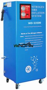 China 60W Vehicle Tire Nitrogen Generator , 95 to 99.5% Purity Nitrogen Tyre Inflation System on sale