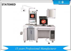 China Medical Deluxe ENT Treatment Unit Ear NoseThroat Single Station With Imaging System on sale