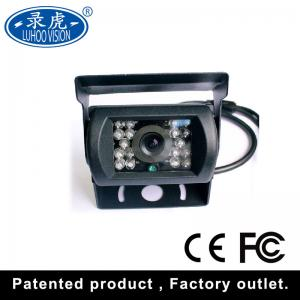 China Wide Voltage Car Rear View Camera , HD IR Night Vision Vehicle Camera Dustproof on sale