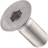China DIN 7991 Hexagon Socket Flat Head Cap Screw Stainless Steel ISO Approved on sale