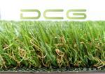 Dark Green Natural Looking Artificial Grass S Shape 11000 Dtex UV Resistant