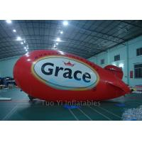 Event Showing Inflatable Advertising Zeppelin Promotional Blimps