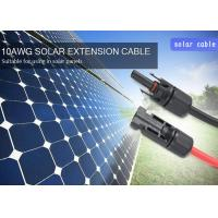 China TUV Flame Free PPO 4mm2 Solar Panel Extension Cable on sale