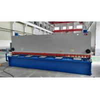 China Electric Hydraulic Guillotine Shear Cutting Raw Material With Numeric - Control System on sale