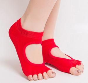 China non slip women yoga socks on sale