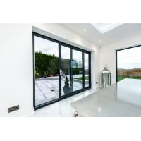 China Interior Decorative Bedroom Aluminium Sliding Glass Doors And Window Eco - Friendly Glue on sale