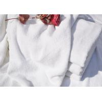 Hotel Bath Towel And  Spiral Plain White 21S With Cotton Terry