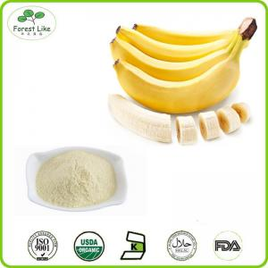China 100% Natural Freeze Dried Fruit Power / Banana Powder on sale