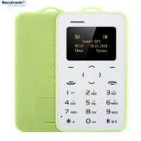 China Ultra Thin Very Small Mobile Phone Setro M5 Credit Card Sized With MP3 Player on sale