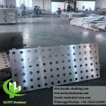 Anti Rust Facade Cladding Panels With Perforation 1500x4500mm Max Size