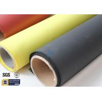 China Fiberglass Fabric Acrylic Coated Fire Welding Blanket Cloth Roll 0.45MM 260℃ on sale
