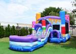 Ice Pops Mega Front Loader Inflatable Combo Bouncer For Kids