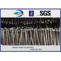Q235 Galvanized Washer Head Timber Drive Screw For Rail Fastening System