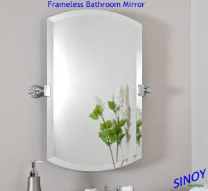 Quality Waterproof Unframed Bathroom Glass Mirror In Different Shapes And Sizes For Applications Sale