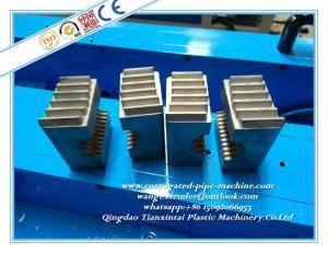 Small Diameter Plastic Corrugated Pipe Extrusion Line / Making ... on fiber optic tubing, dryer vent tubing, flexible conduit tubing, coil tubing, exhaust tubing,