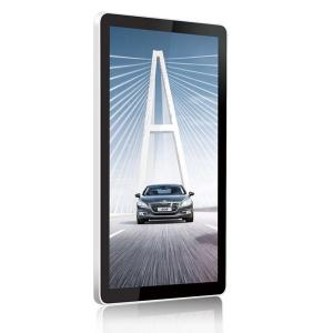 China Vertical / Horizontal 42 inch PC Windows RJ45 / WIFI Wall Mounted LCD Display on sale