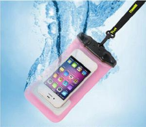 China Iphone 5s Waterproof Bag With Sports Arm Band Underwater Phone Bag on sale