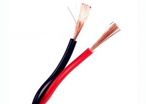 China Flexible twisted pair cable 300/300 V Twisted cords with flexible fine stranded copper conductor 2 cores on sale