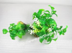 China Simulation grasses,aquarium sight, no- influence plastics grasses,green Y909 on sale