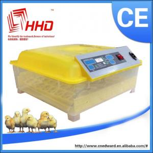 China CE Marked new design transparent 48 eggs automatic chicken egg incubator small size on sale