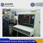 China Octane engine SINPAR FTC-M1/M2 with research and motor test method