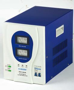 China Stabilizer AC automatic voltage regulator AVR SVC 110V and 220V , 50Hz / 60Hz on sale