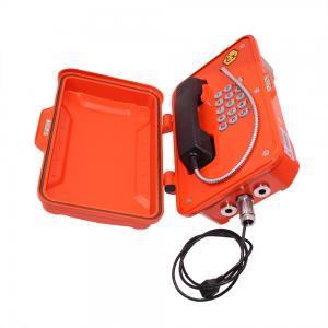 China Wall Mounting EX Proof Telephone , Analog Heavy Duty Telephone JREX101 on sale