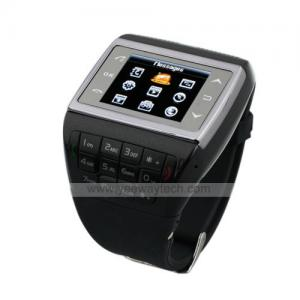China VE77 Dual Card Quad Band Compass FM Touch Srceen Watch Cell Phone on sale