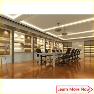 China High end custom shoe showroom display shelf furniture with lighting on sale