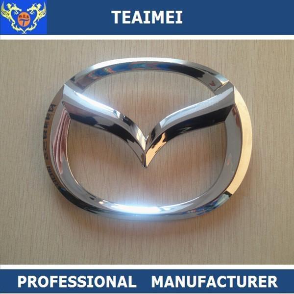 Automotive Badges Emblems Car Badge Logos Abs Chrome For Mazda For