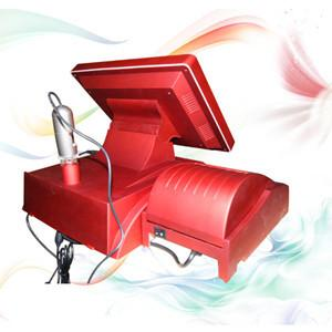 China professional Red portable Skin Analyzer Machine For testing skin age on sale