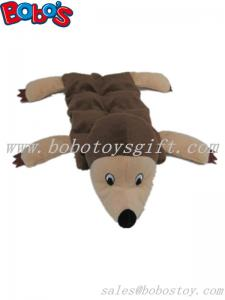 China less stuffing pet dog toy plush hedgehog with squeaker on sale