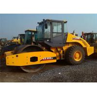 Road Making Machine  18 Ton Vibrating Road Roller Machine With Single Drum