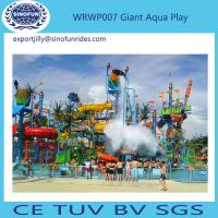 Parenting And Kids Big Aqua Playground Fiberglass Maya Water House for Amusement Park