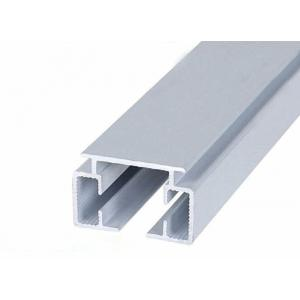 China Curtain Rail Fitting Extruded Aluminum Profiles Curtain Track 6063 Material on sale