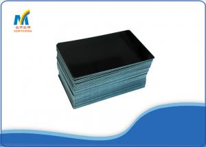 China Durable Black Sublimation Business Card Blanks , Modern Unique Business Cards on sale