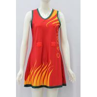 Full Subliamtion Girls Netball Skirt , Custom Netball UniformsNo Fading