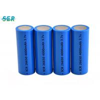 China Durable Lithium Ion Battery 26650 3.7V 4000mah For Flashlight / Electric Torch on sale