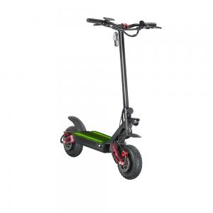 China Two Wheel Dual Motor Foldable Electric Scooter,Electric Scooter with Swing Arm Suspension on sale