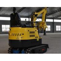Crawler Mini Excavator Machine 900kg Small Digger Machine Bucket Capacity 0.025cbm