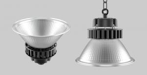 China Aluminum Reflector Industrial High Bay Lights 100 Watt IP54 120LM/W PF>0.9 on sale