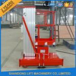 China Mobile Hydraulic Aerial Work Platform Lift With High Strength Aluminum Alloy Material wholesale