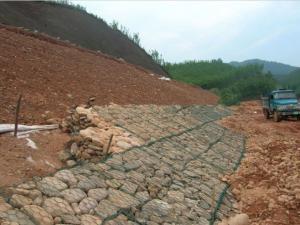 China Galvanized Steel Wire Stone Gabion Boxes Galvanised Steel Mesh on sale
