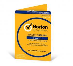 Quality Symantec Norton Security Deluxe 2017 3.0 , 5 Device Symantec Endpoint Security for sale