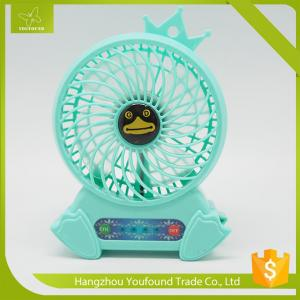China BS-6660 Rechargeable Lithium Battery Operated Mini Table Fan on sale
