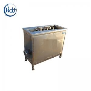 China Electric Heating Automatic Fryer Machine Small Fritters For Food Frying on sale