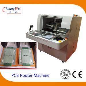 China High Speed Semi Automatic Router Machine With 60000RPM KAVO Spindle on sale